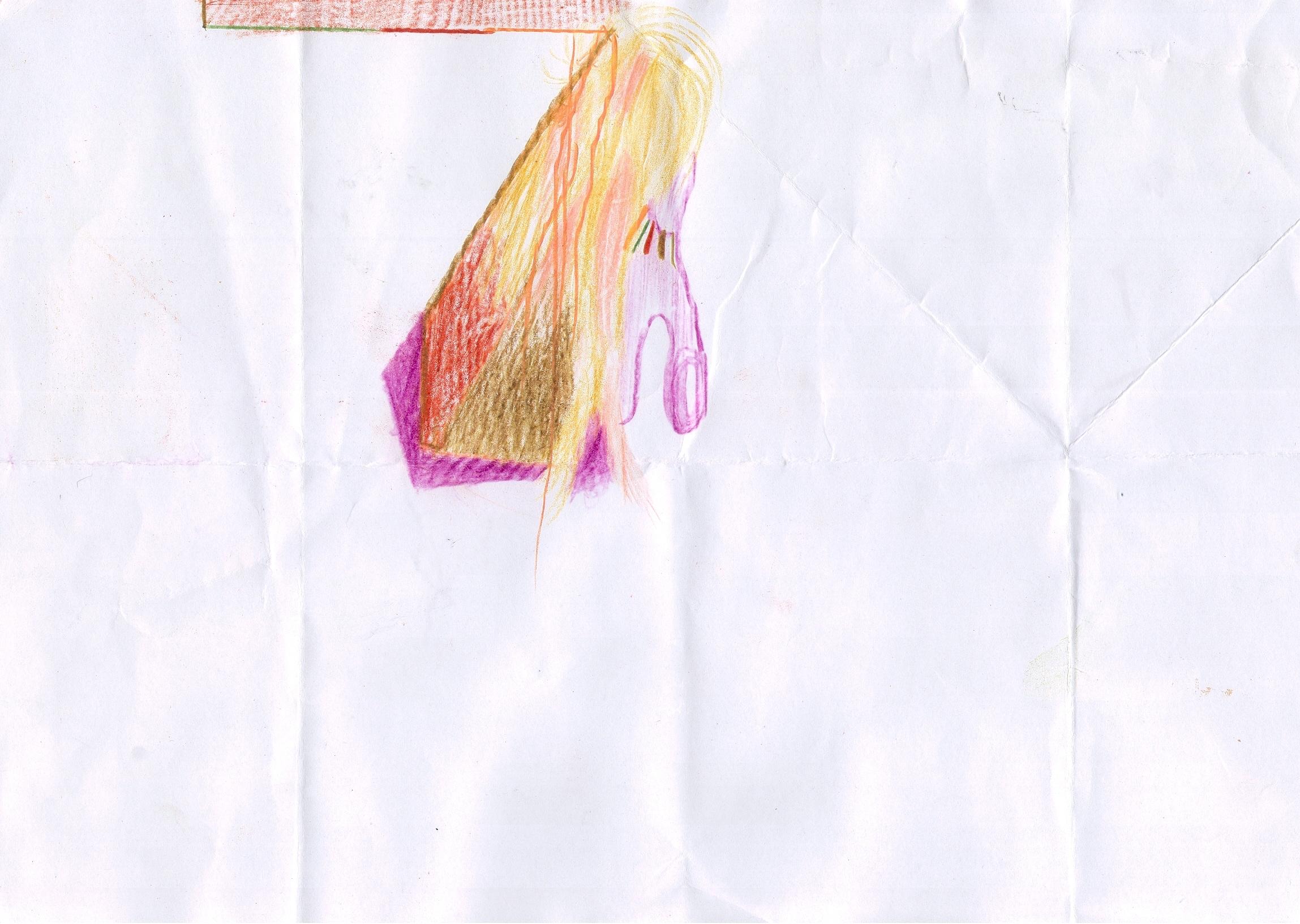 O.T., 2018  Buntstift Papier, 29.8x21cm
