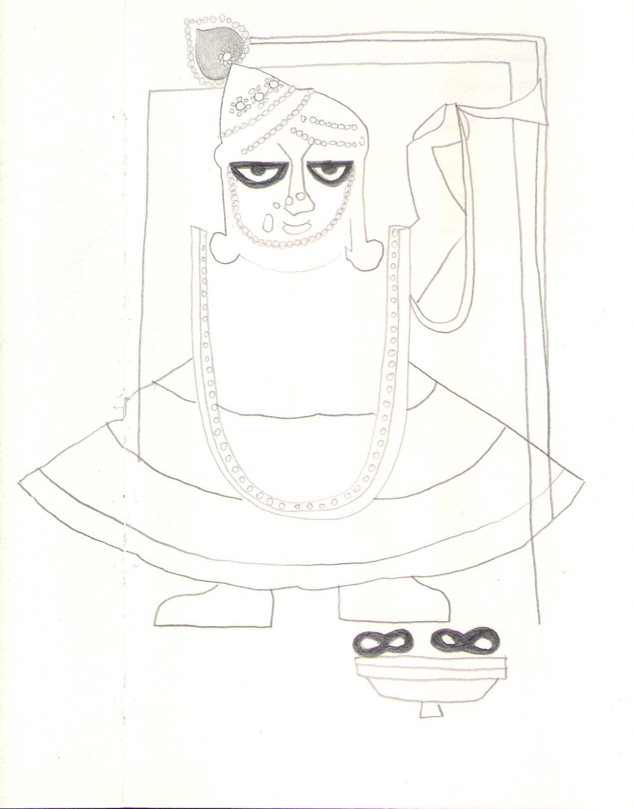 O.T., 2008  Bleistift auf Papier, 22x29cm