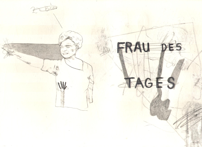 O.T. ( fr d tgs ), 2005  Bleistift Papier, 29.8x21cm