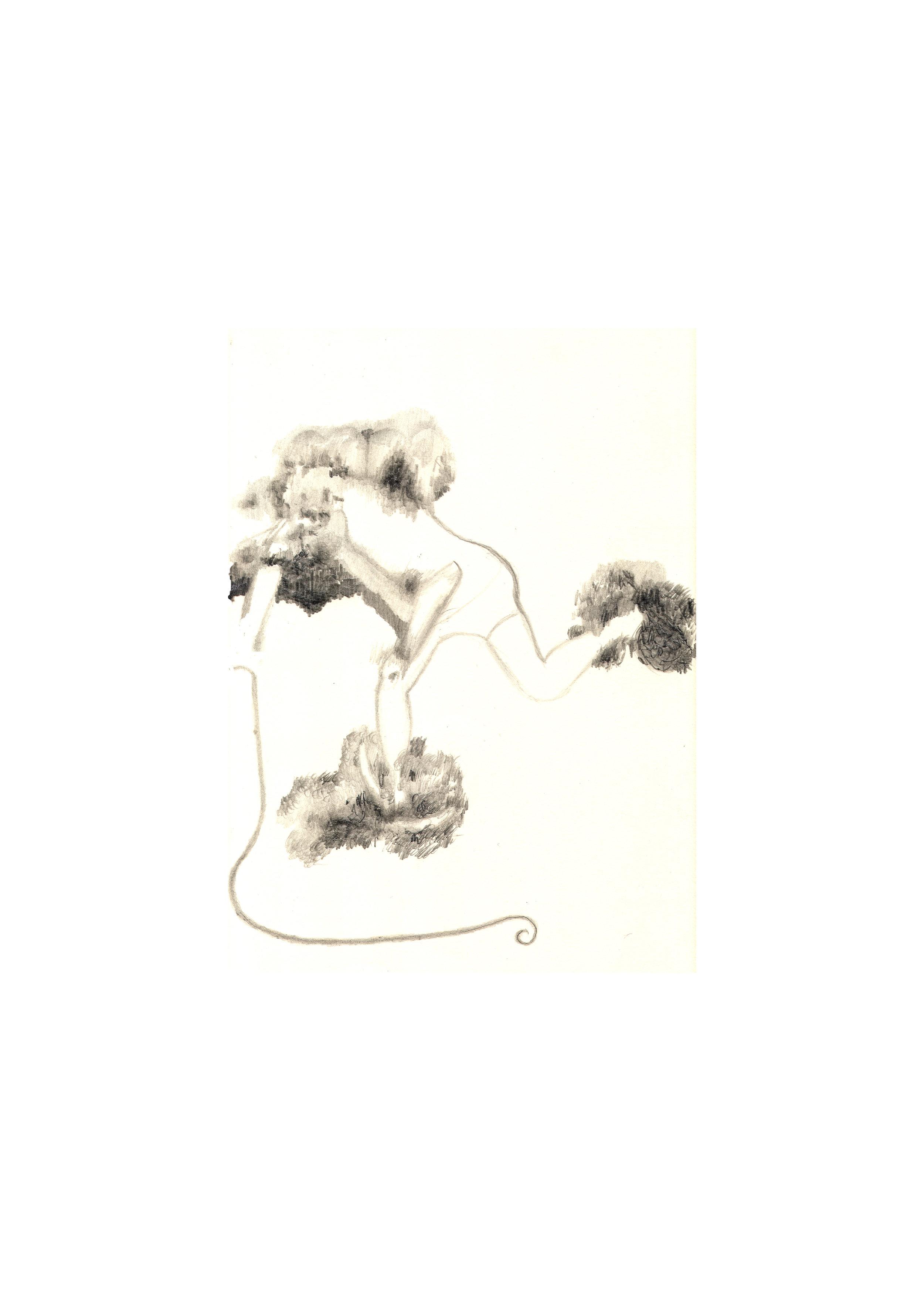 O.T., 2006  Bleistift Papier, 42x60cm