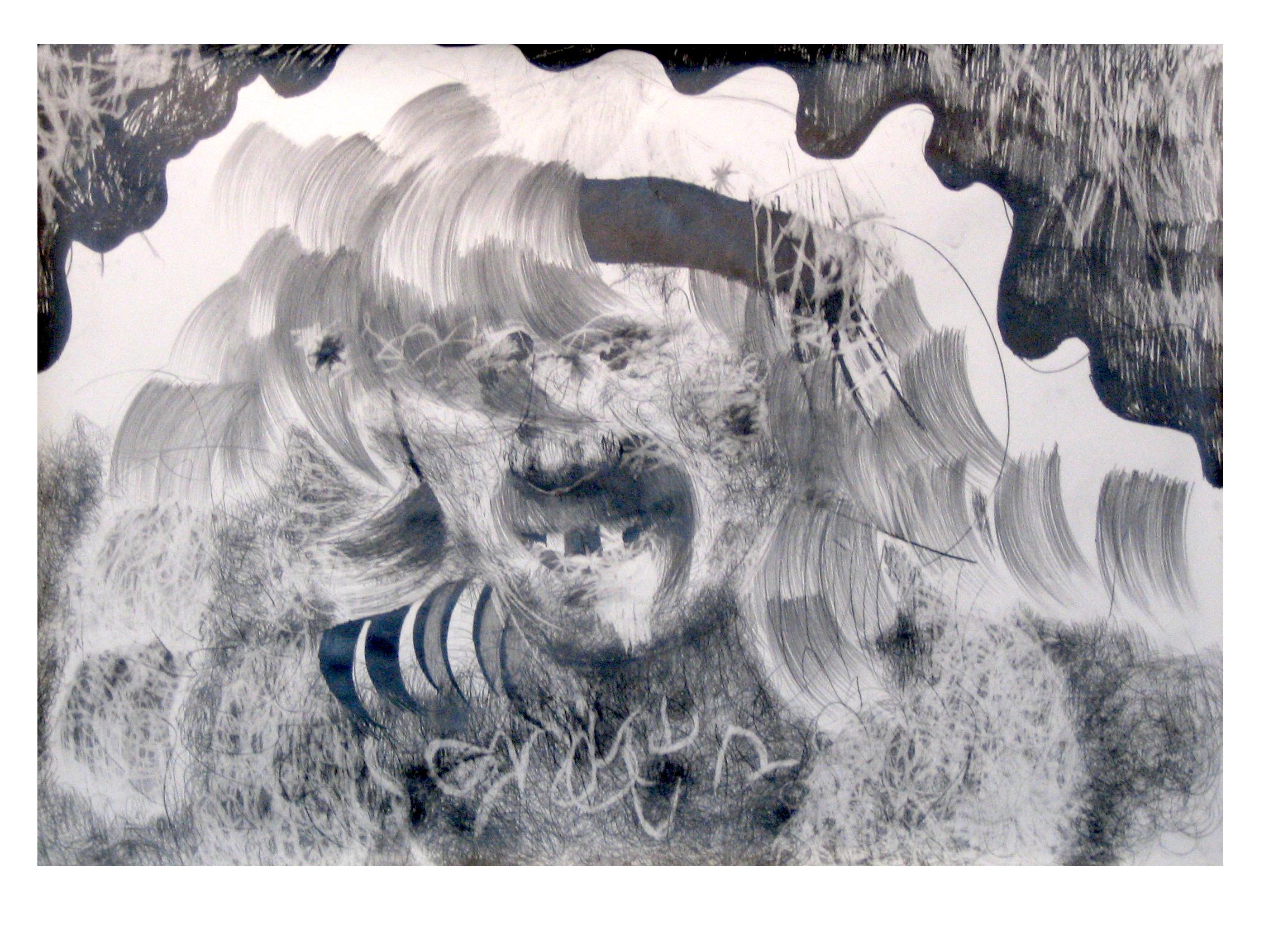O.T., 2004  Bleistift Papier, 150x200cm