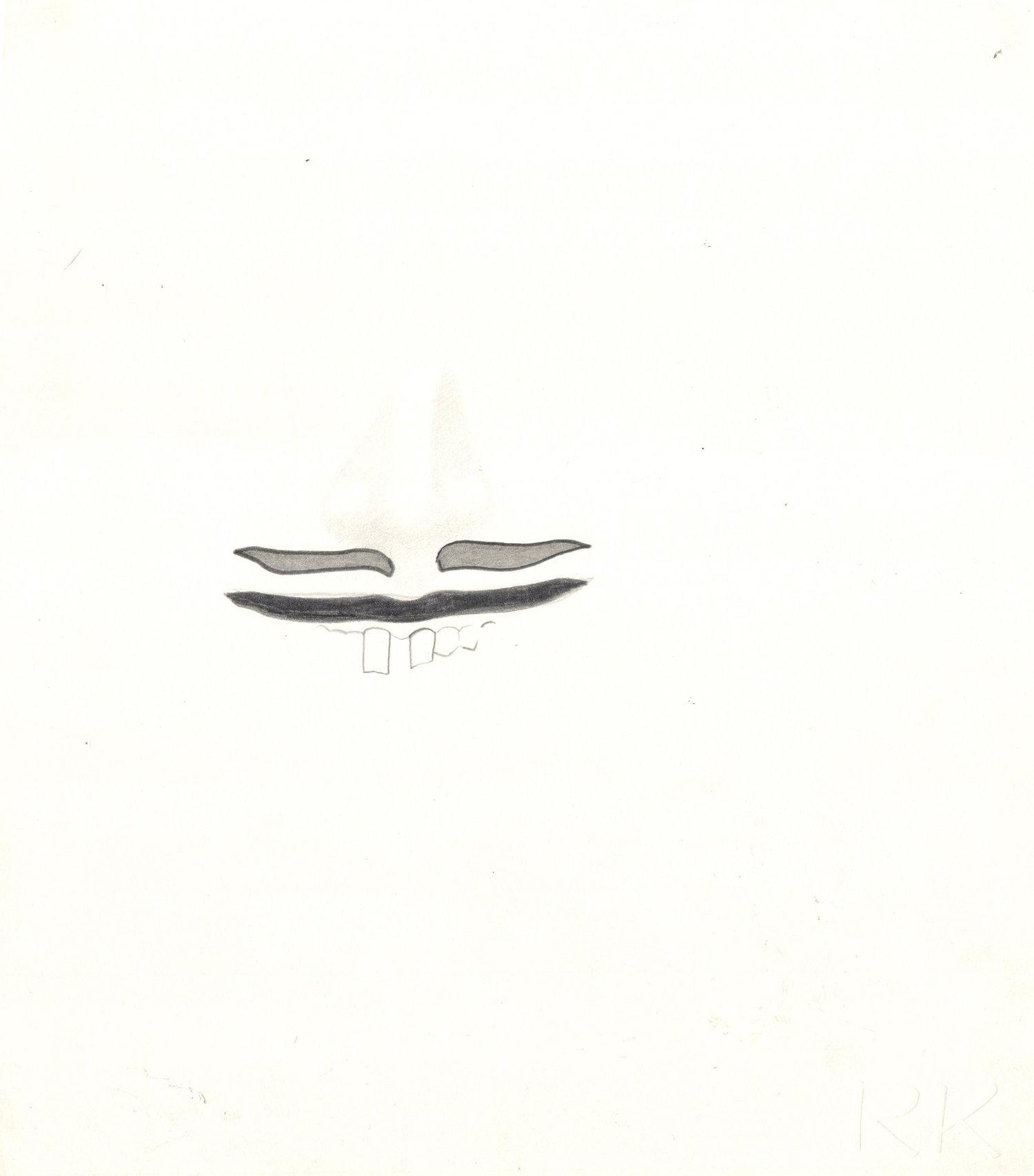 O.T ( ... ), 2012  Bleistift auf Papier, 26x35.5cm