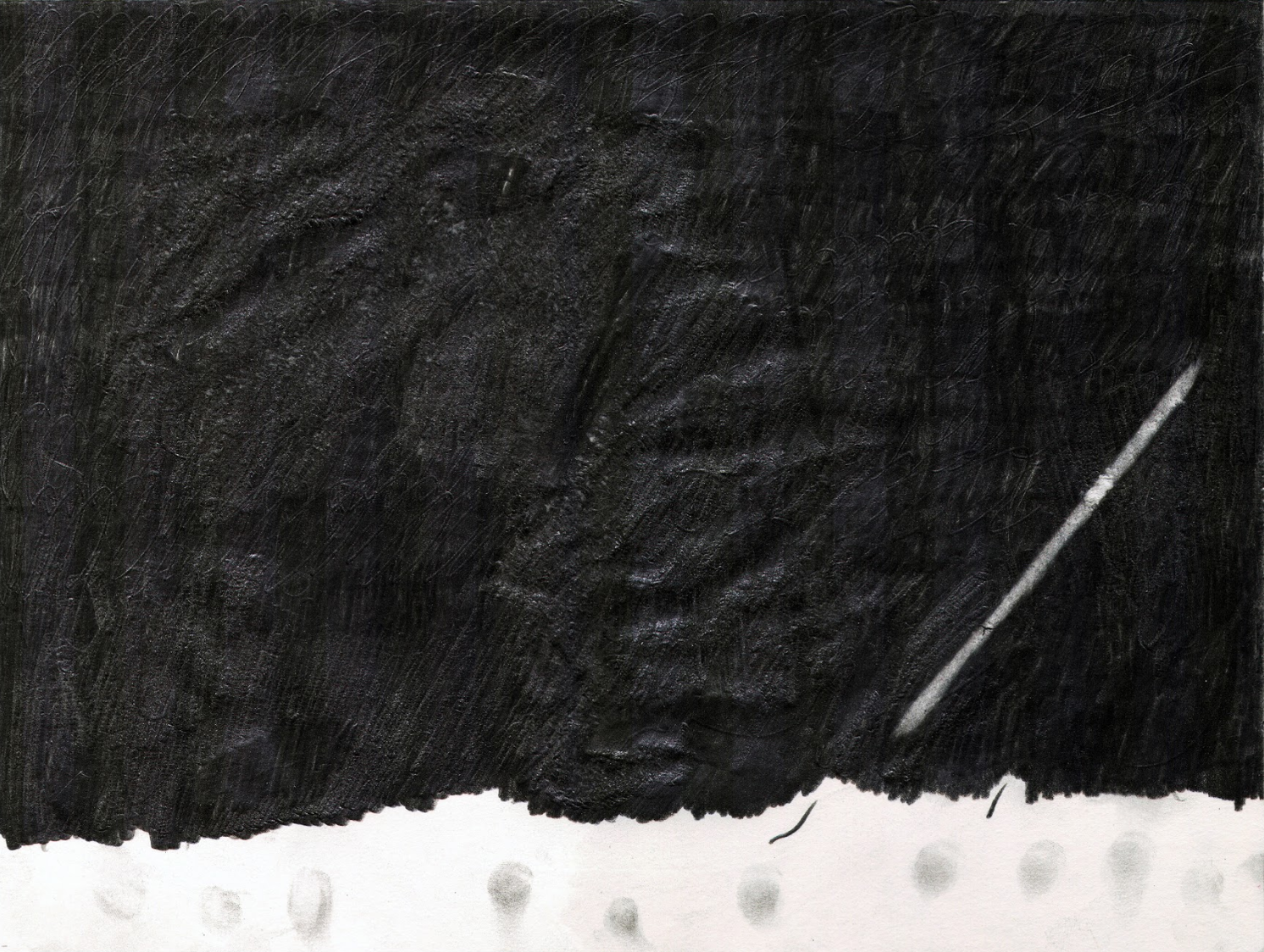 O.T., 2012  Bleistift auf Papier, 26x35.5cm