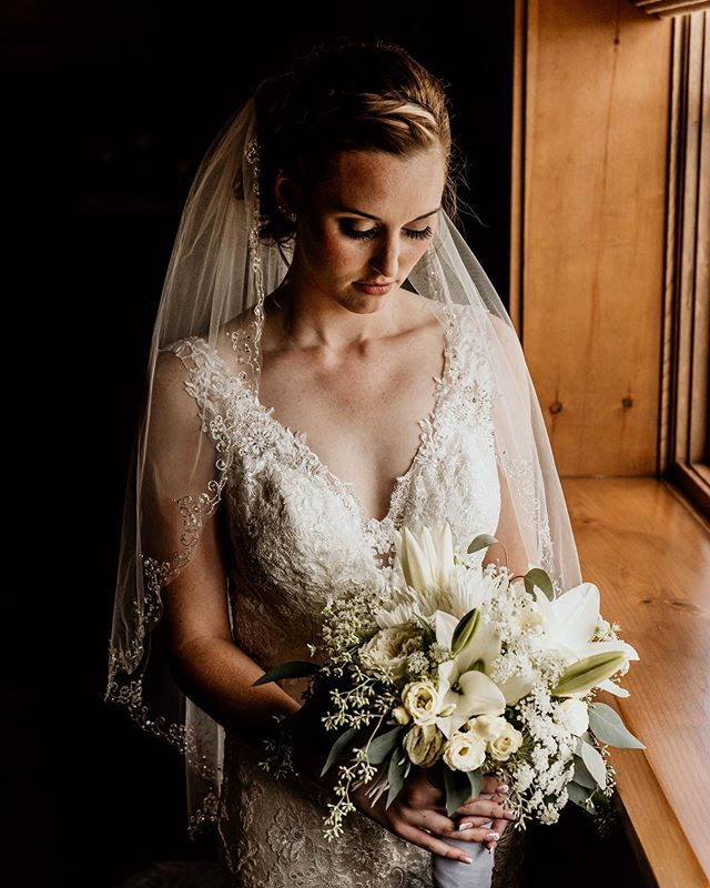 August 24, 2019  One of my favorite shots of @ashytay14 from her wedding day.
