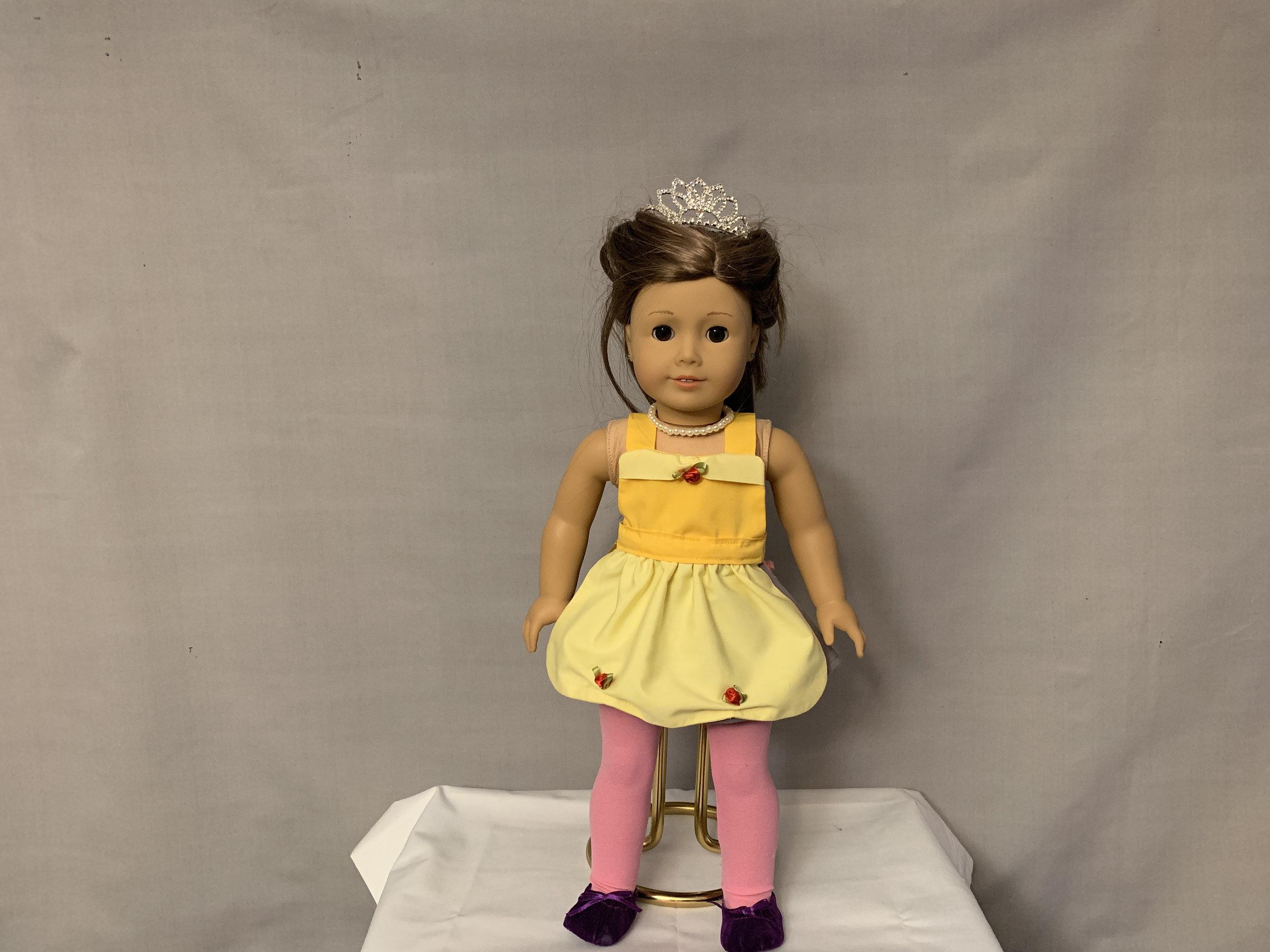 Belle Doll Apron