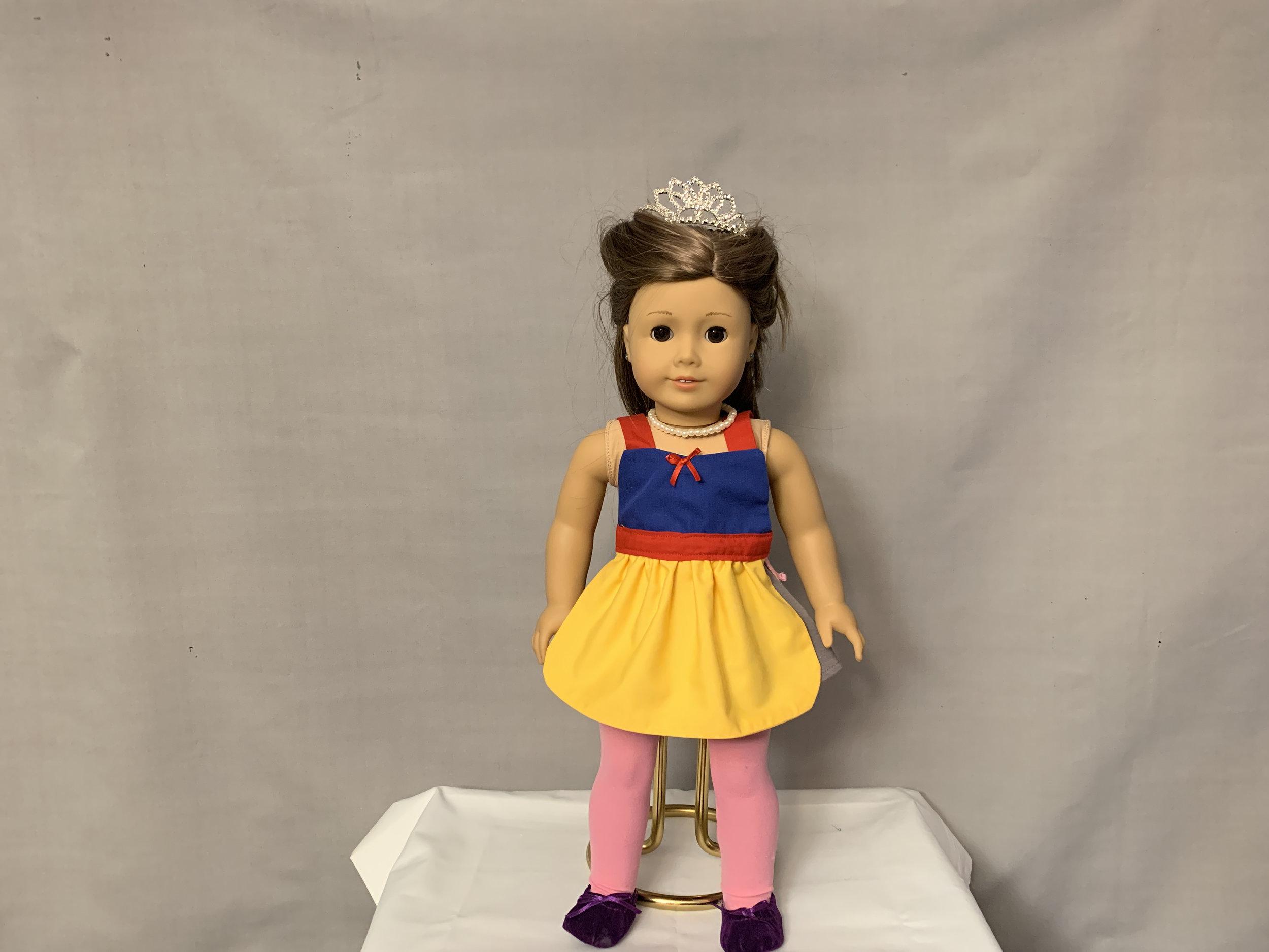 Snow White Doll Apron
