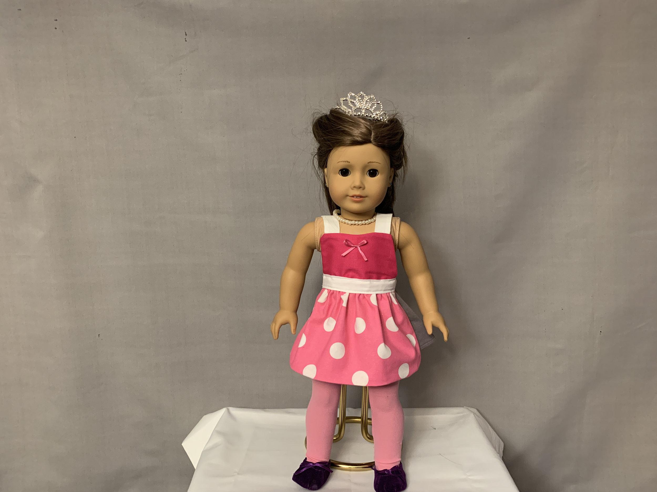 Pink Minnie Apron