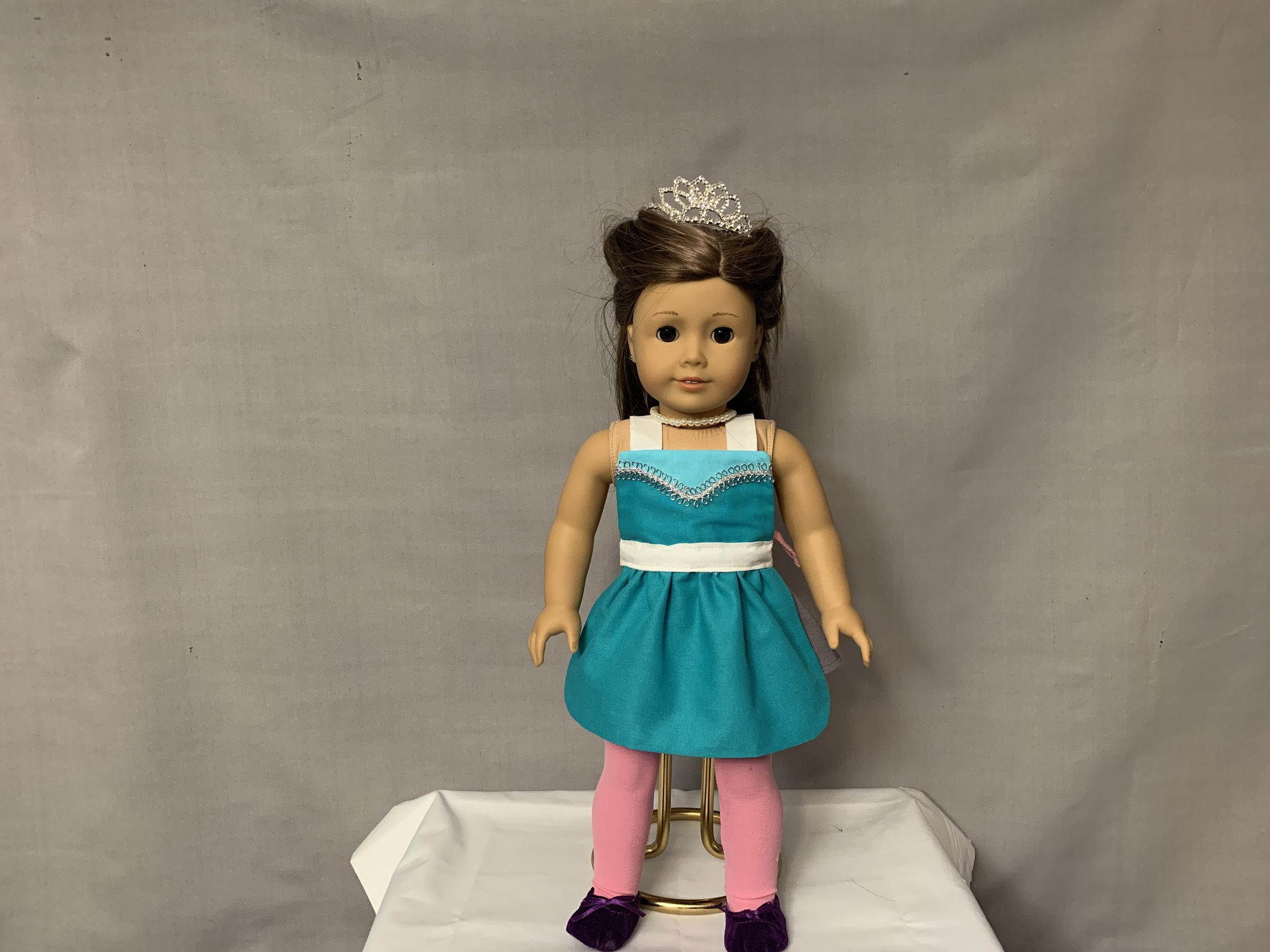 Elsa Doll Apron