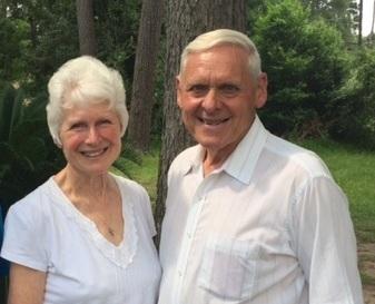 Doris Belitz (on left) and Larry Belitz (on right)
