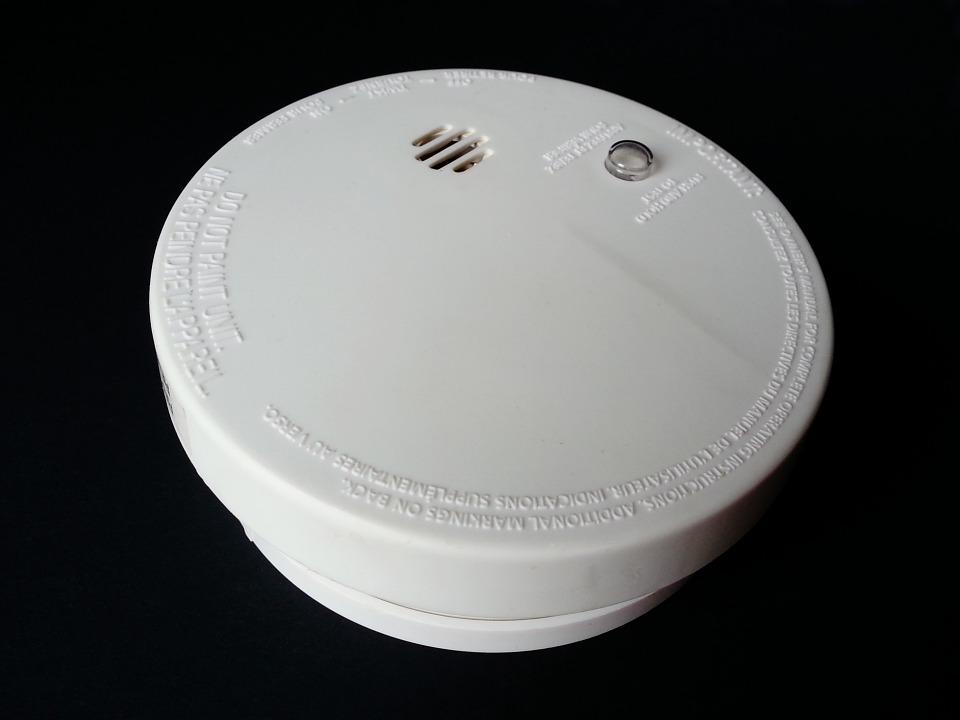 Smoke Alarms looks like this (above)