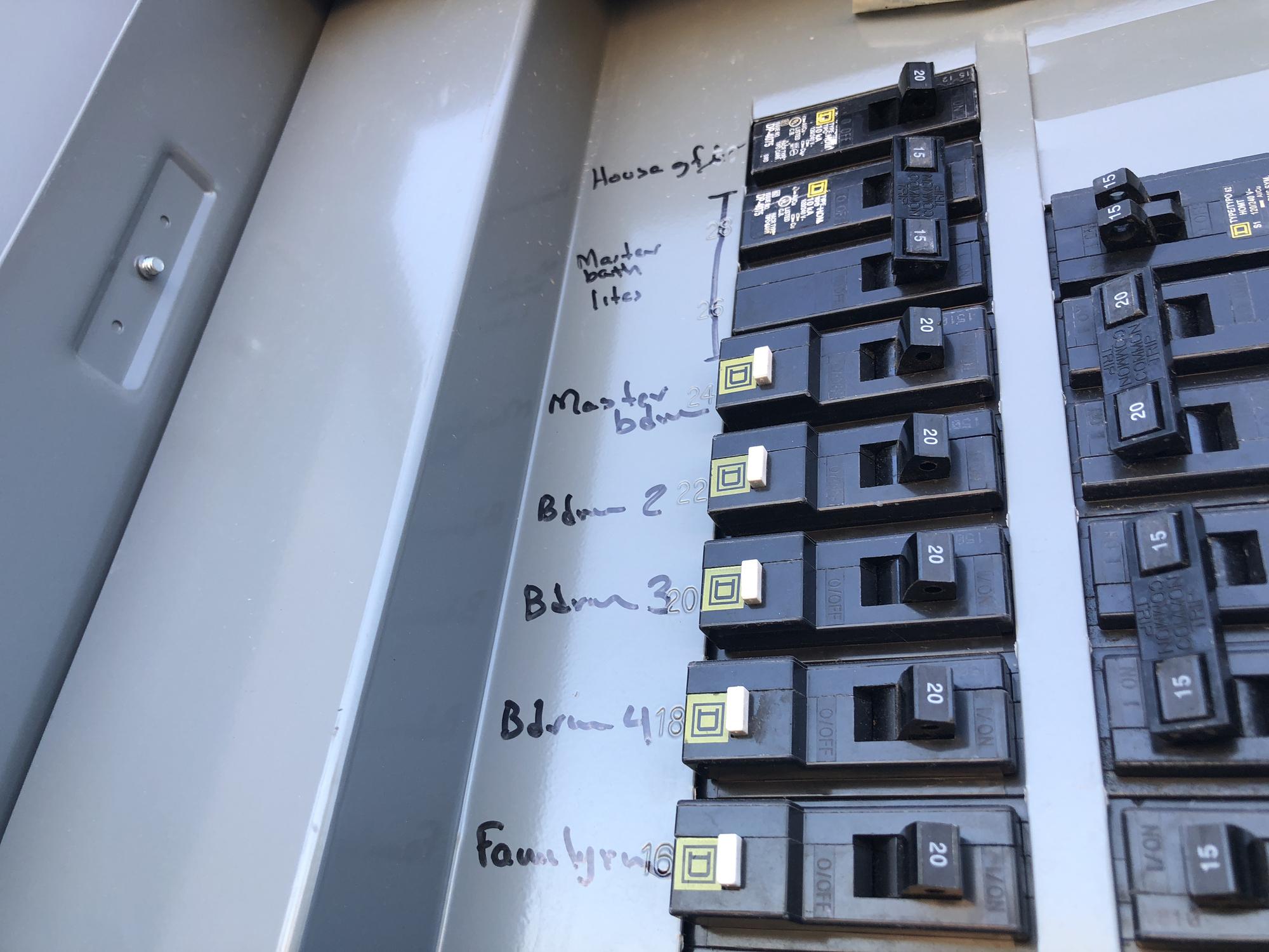 Circuit breakers look something like this (Above)