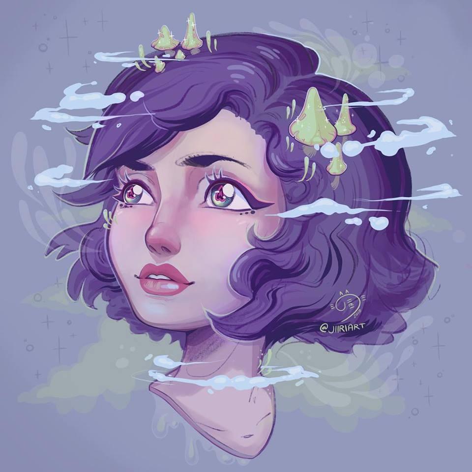 Digital - Nature Crown Portrait