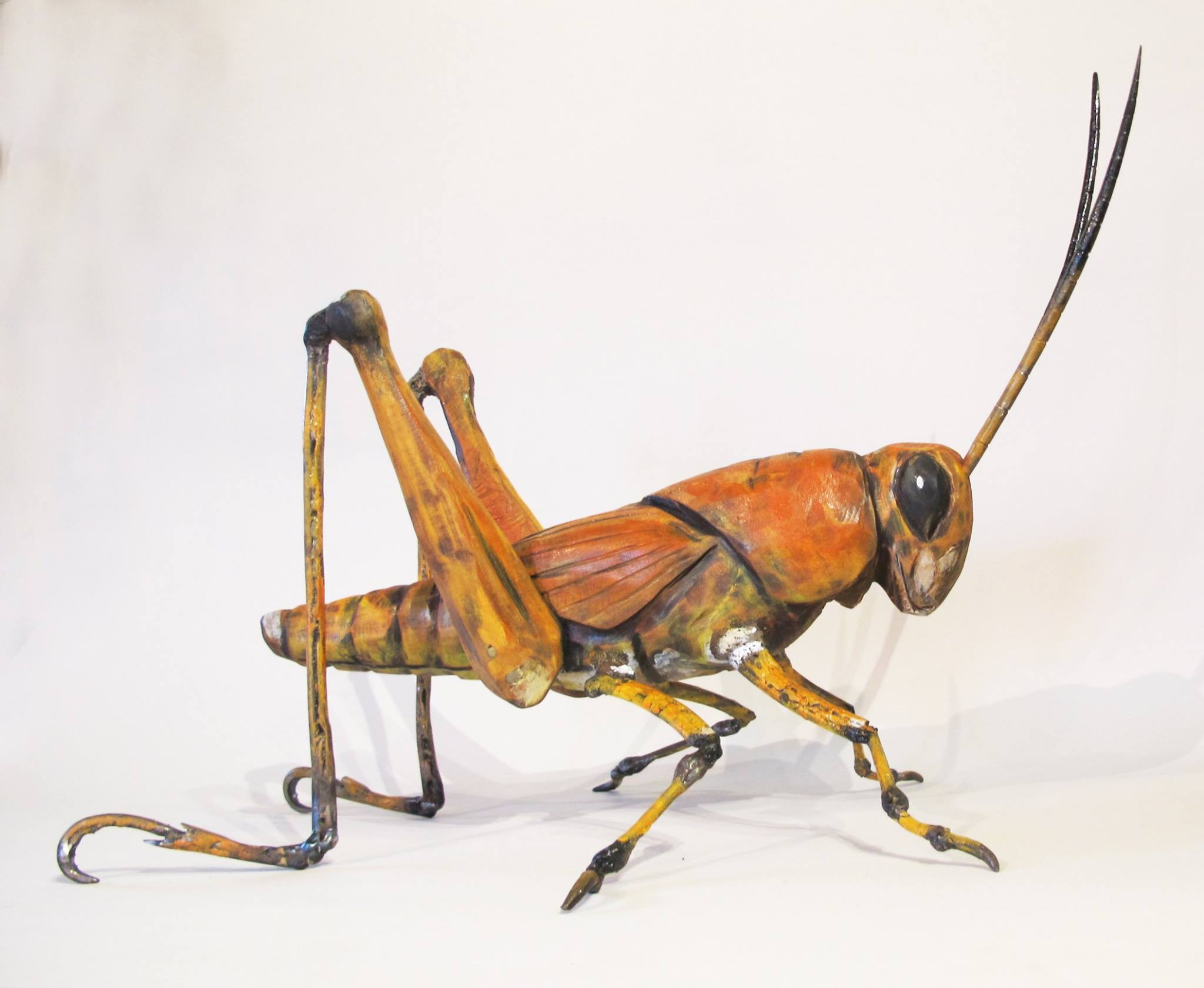 Life-like bugs - available at PINK ALLIGATOR GALLERY | BREAUX BRIDGE