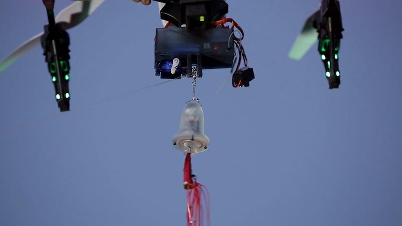 lure drop drone