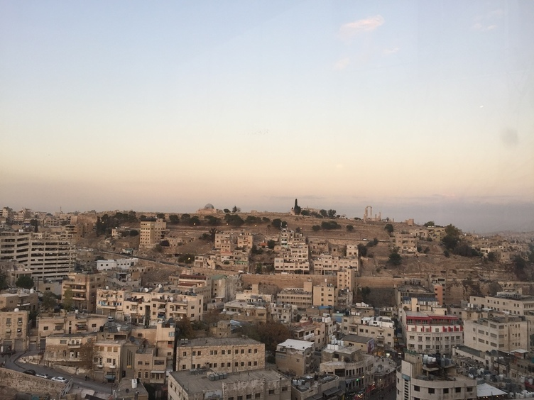 Amman. On the top of the hill are Amman Citadel and Temple of Hercules (built in the 2nd century AD).