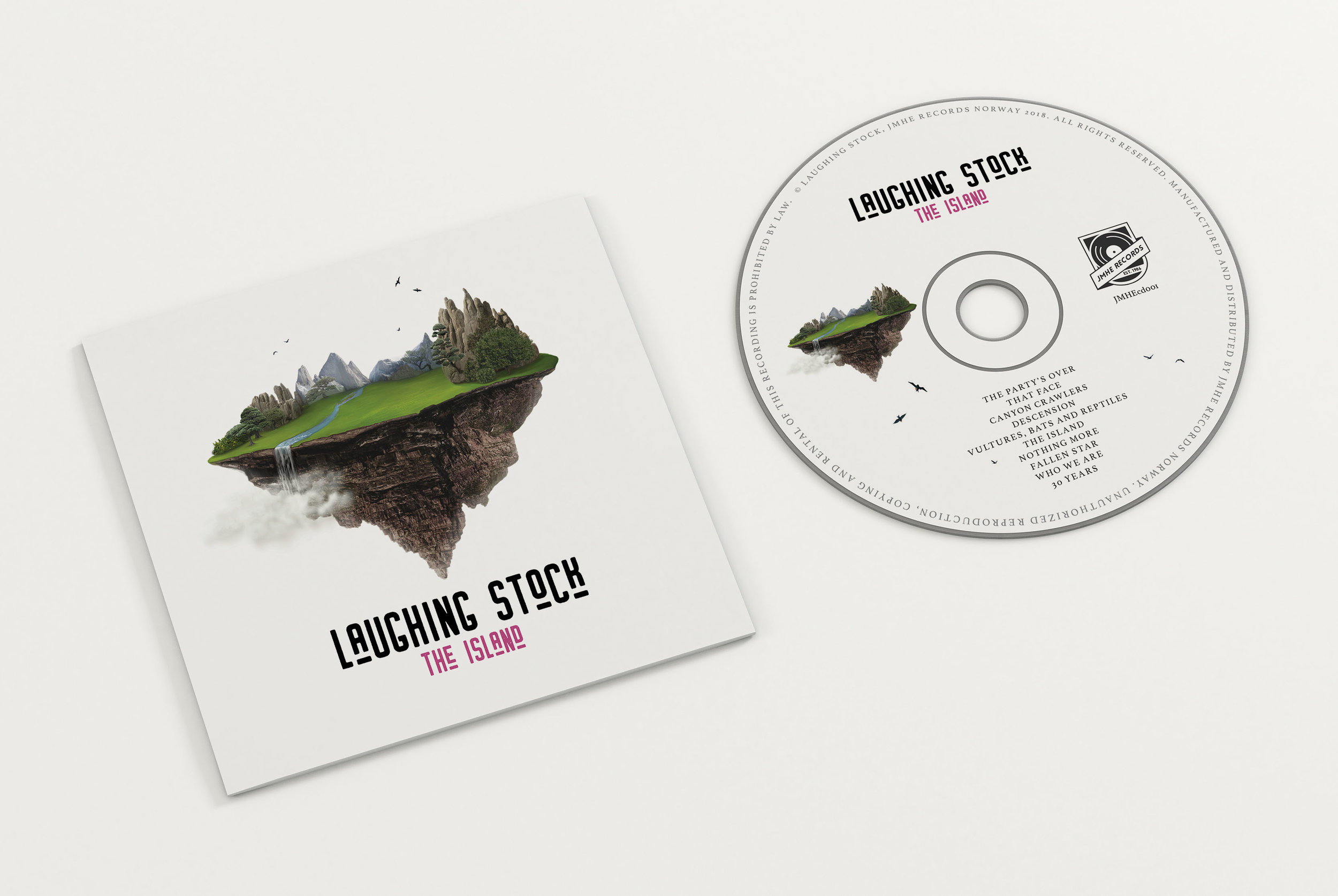 "CD Laughing Stock ""The Island"" - Price kr 149,-For purchase contact mikis7@hotmail.com"
