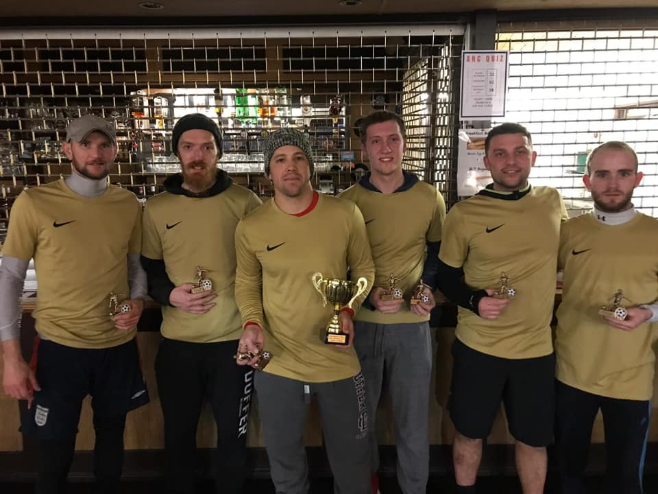 KNOCKOUT CUP WINNERS - DELPH & SAFETY