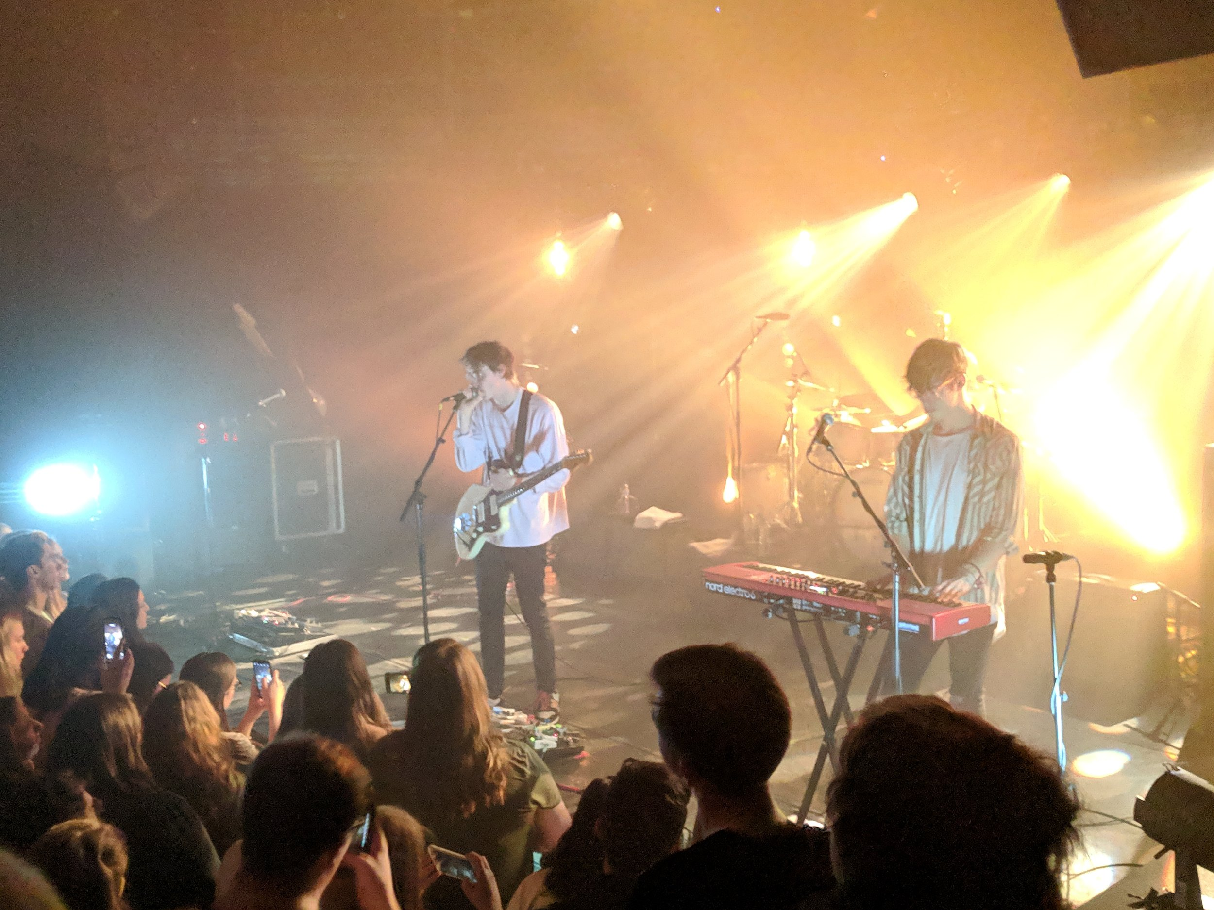 St. Paul band Hippo Campus at The Botanique. Feb 26, 2019.