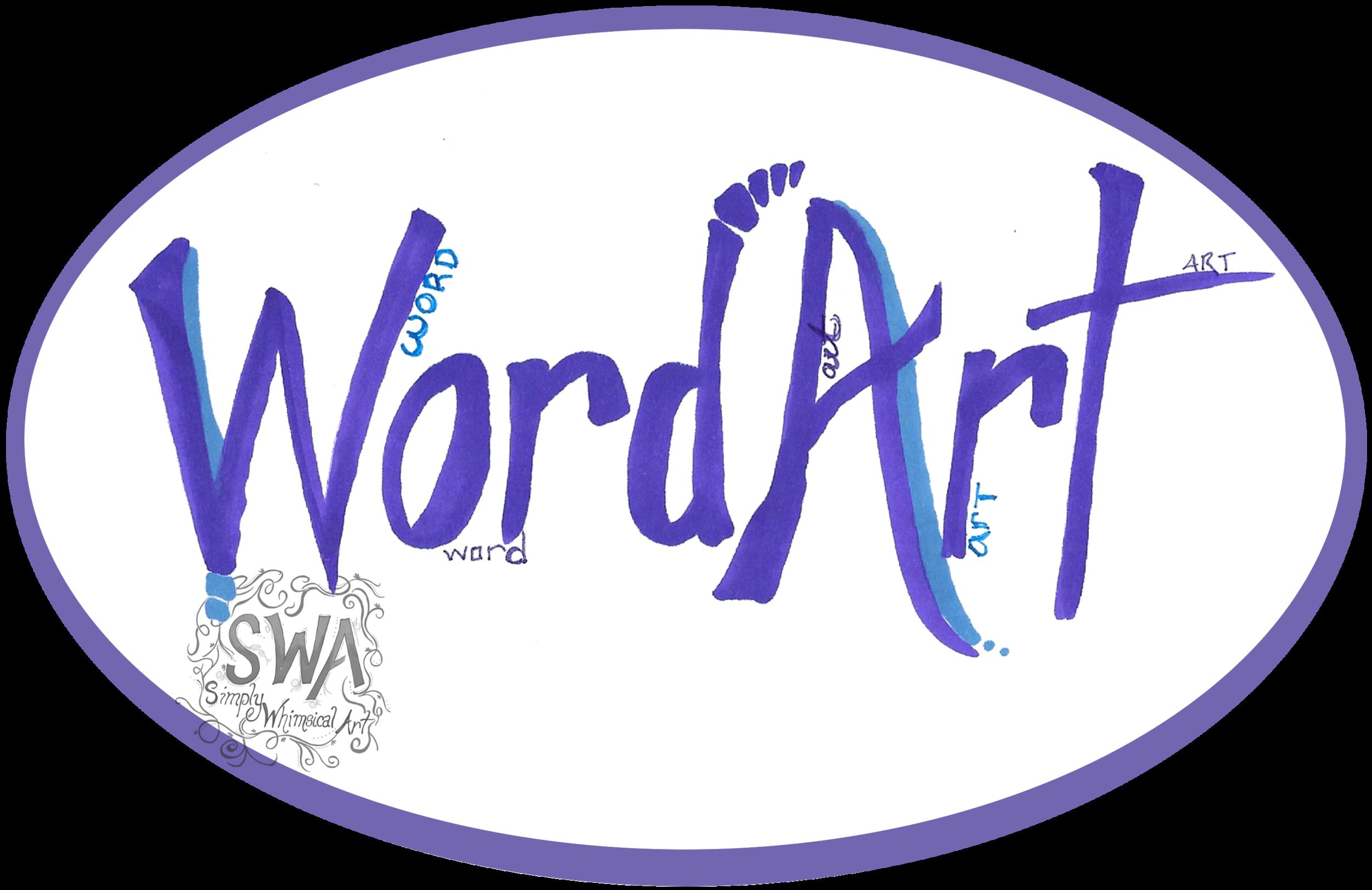Shop Word Art