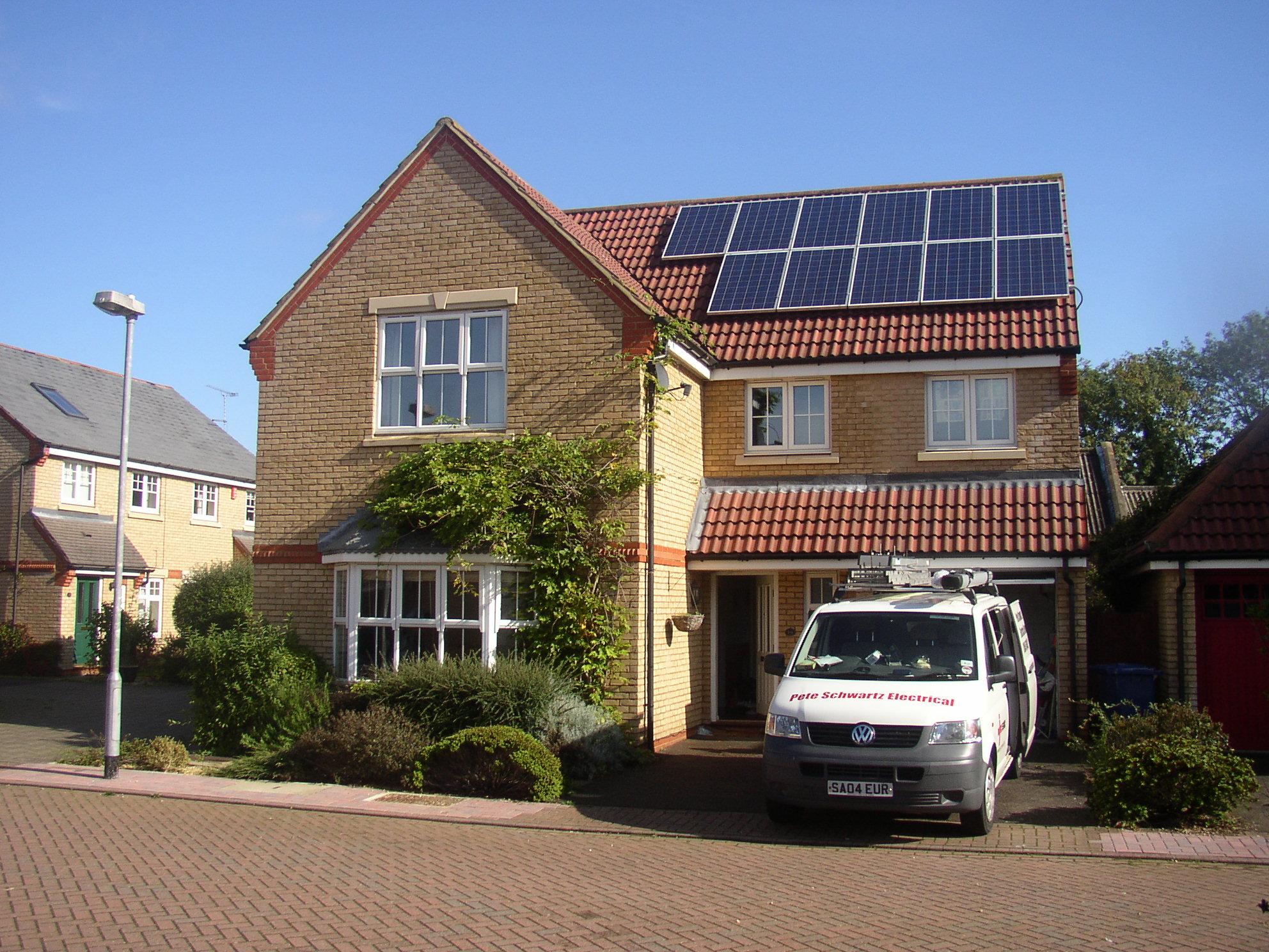 Domestic PV in Cambridge