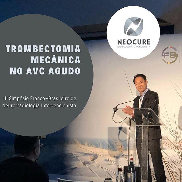 O Dr. Guilherme Nakiri foi membro da comissão organizadora do III Simpósio Franco-Brasileiro de Neurorradiologia Intervencionista que ocorreu há uma semana e ainda proferiu aula sobre o tratamento do acidente vascular cerebral (AVC) agudo com a trombectomia mecânica #neocure #radiologiaintervencionista #neurorradiologiaintervencionista #avc #avcagudo #trombectomiamecânica #trombectomia #sbf
