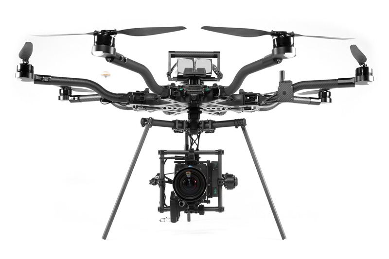 FREEFLY ALTA 8 - Heavy lift Multirotor, suitable for ARRI Mini or RED cameras.