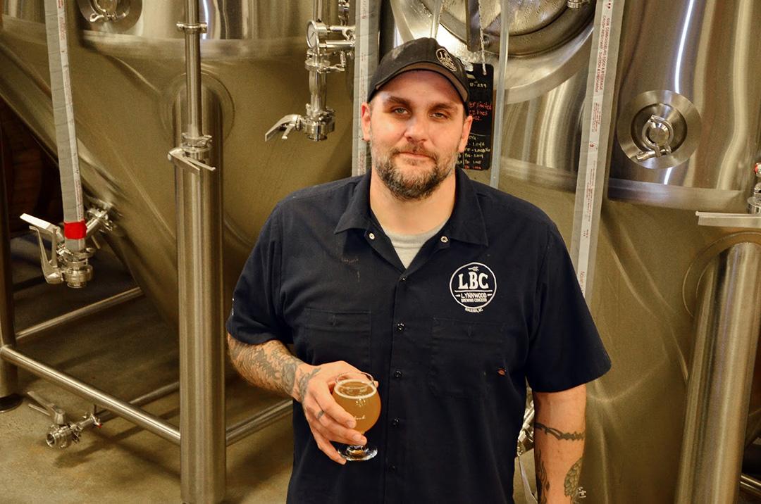 Lynnwood Brewing Concern's Bill Gerds has been head brewer since June of 2013.