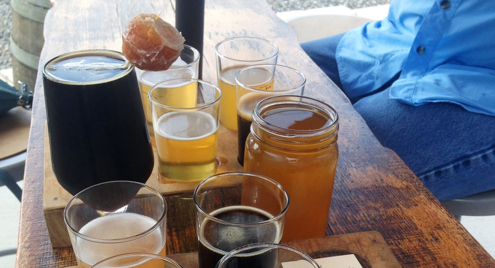 Burial Beer Company of Asheville made the list with its Skillet Donut Stout.