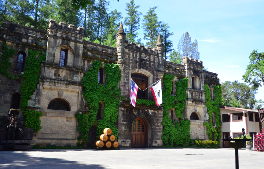 Chateau Montelena is located in Calistoga, California.