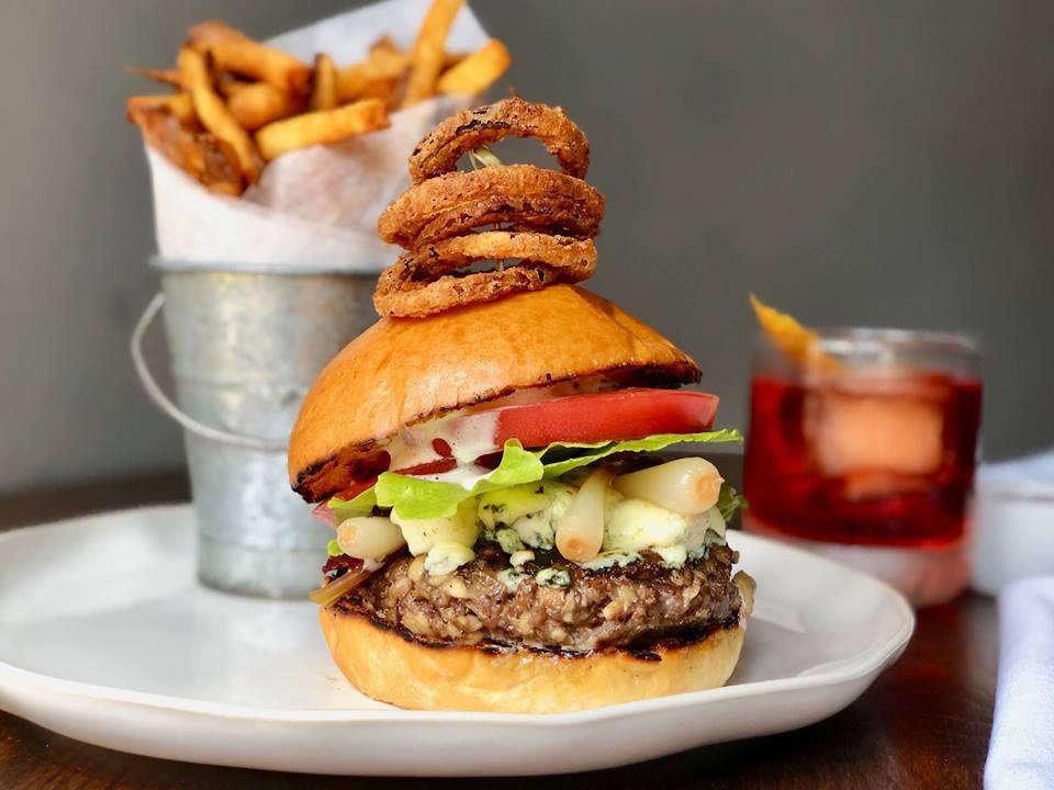 Take a look at Chef Sean Fowler's Blueprint Burger. Courtesy of Mandolin's Facebook page.