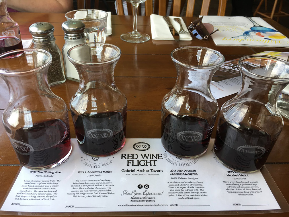 The winery has so many options with its wine tastings – including tastings in the Gabriel Archer Tavern.