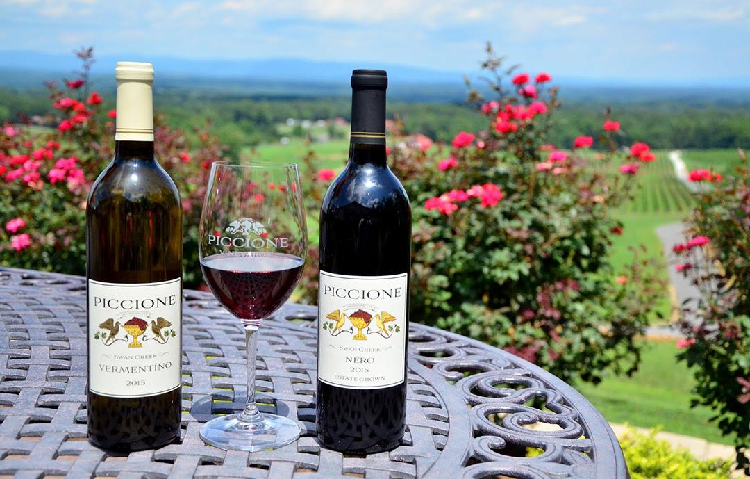Piccione Vineyards Top Selling Wines.JPG