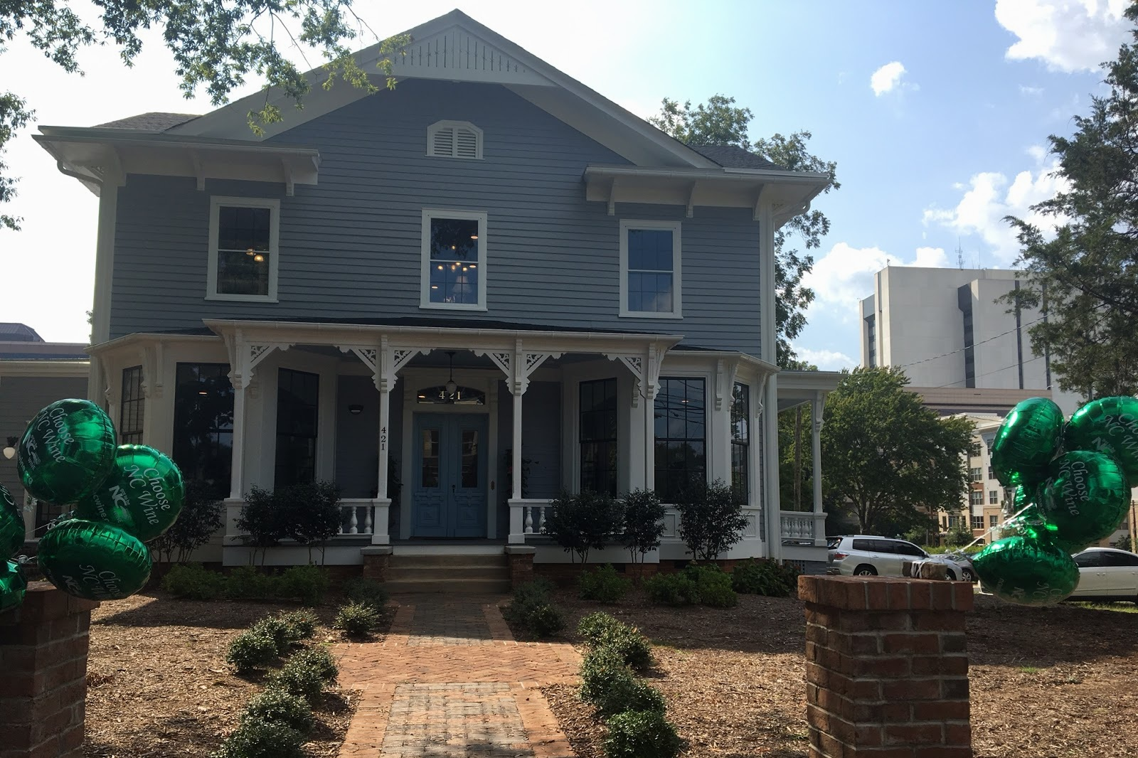 The Norris House in downtown Raleigh played host to the 2018 NC Wine and Grape Month Kickoff