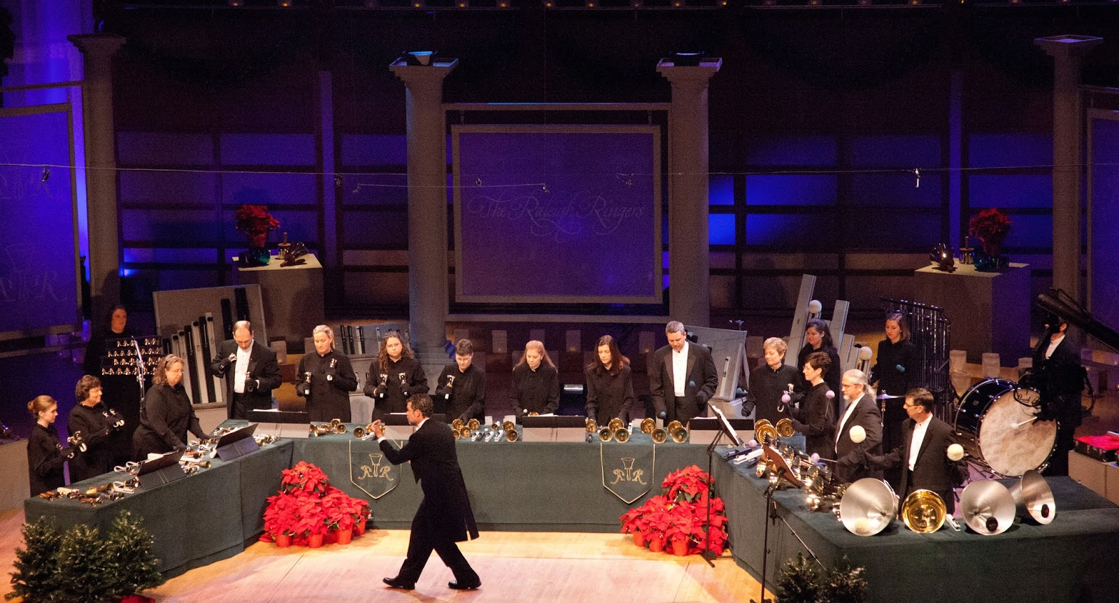 The Raleigh Ringers will perform on Dec. 9-10. Photo c/o Raleigh Ringers.