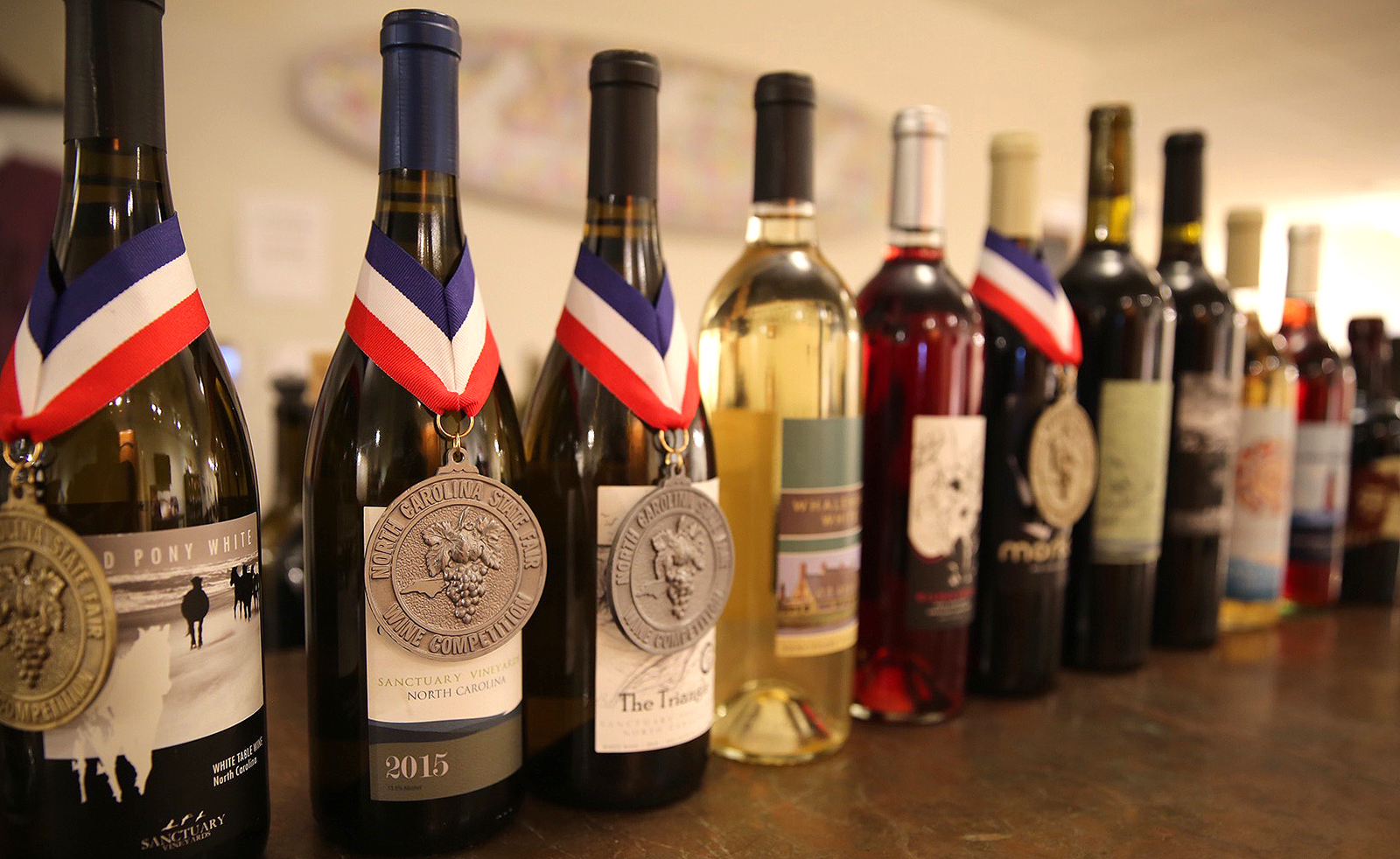 Sanctuary Vineyards has won many awards for its different wines.