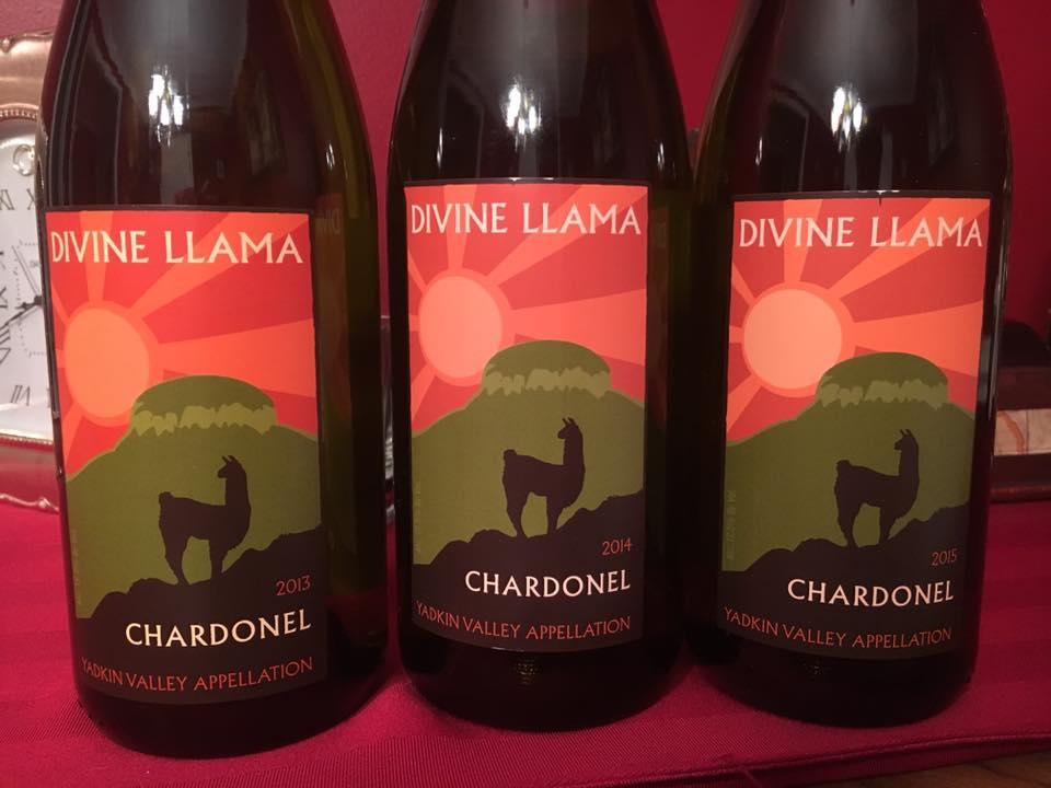 Divine Llama's Chardonel vertical challenge.