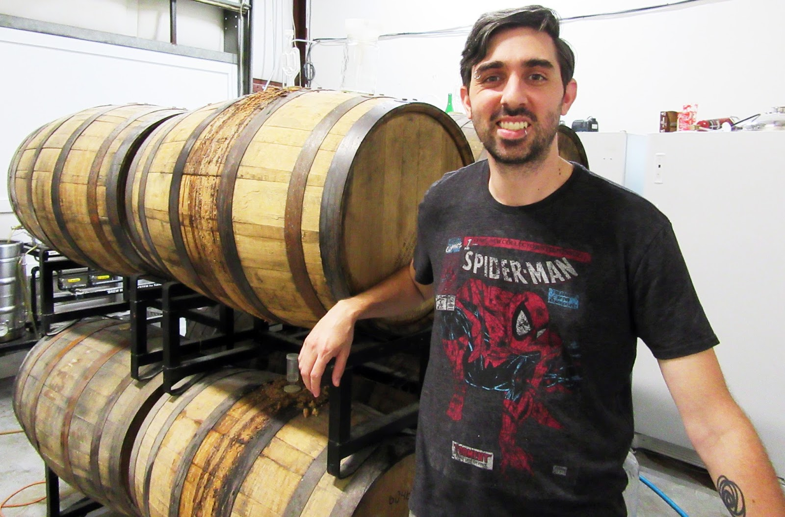 Michael Stagner's passion lies in sour beers.