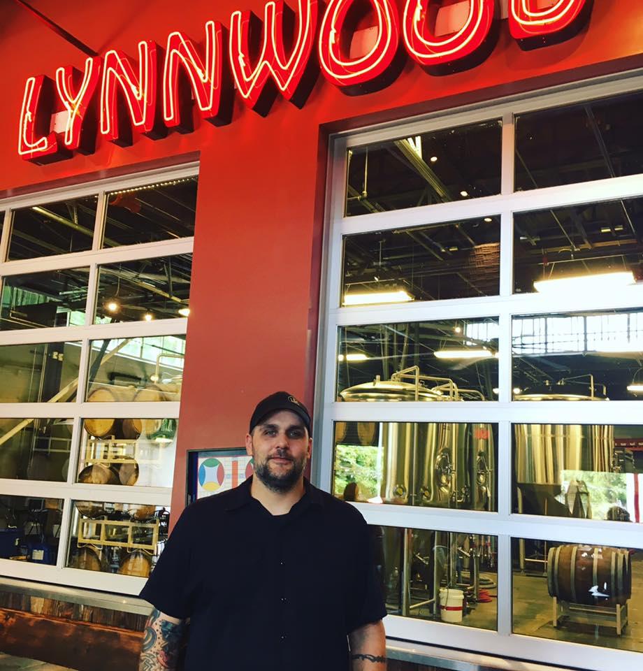 Lynnwood Brewing Concern's head brewer, Bill Gerds.