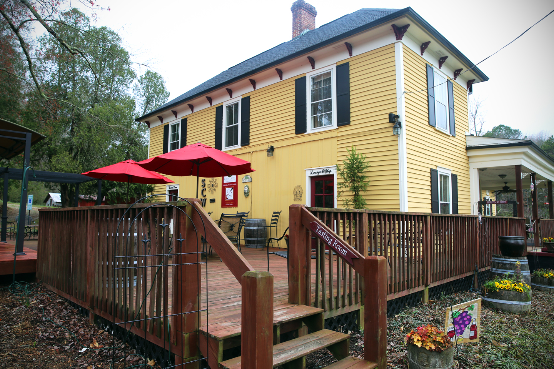 South Creek Winery resides in Nebo, North Carolina