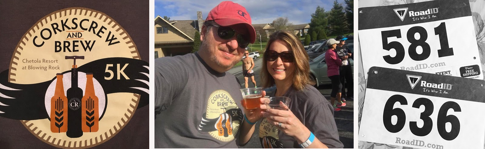 Drinking wine and beer at 9 a.m. while jogging a 5K in the mountains ... it was a bucket list.