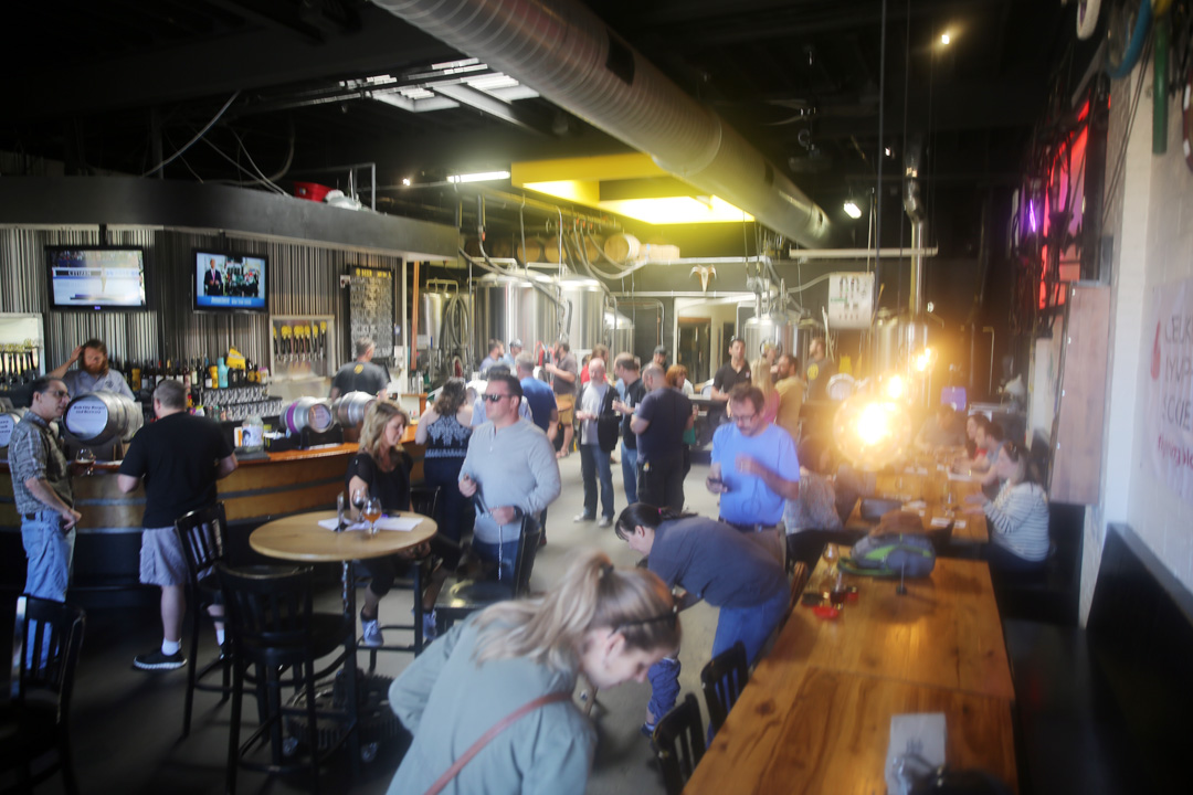 Crank Arm's 4th Annual Casks on Fools kicked off NC Beer Month.