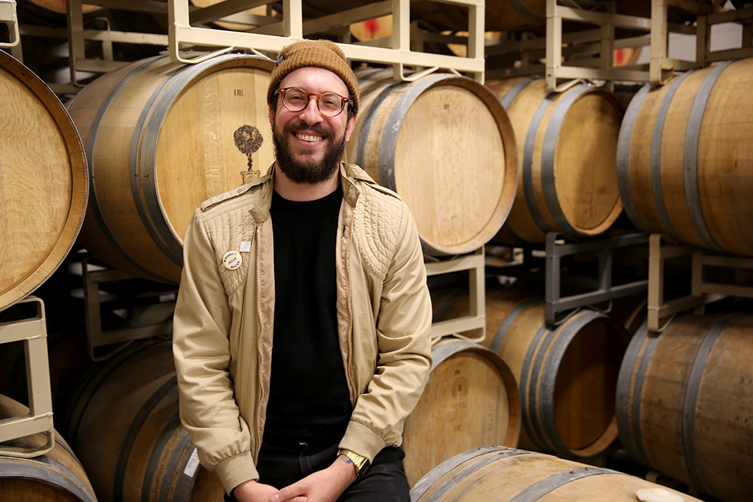 Sean McKinney is co-founder of Ancillary* Fermentation.