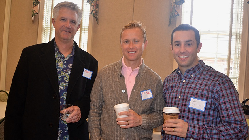 Val Bure, center, of Bure Wines