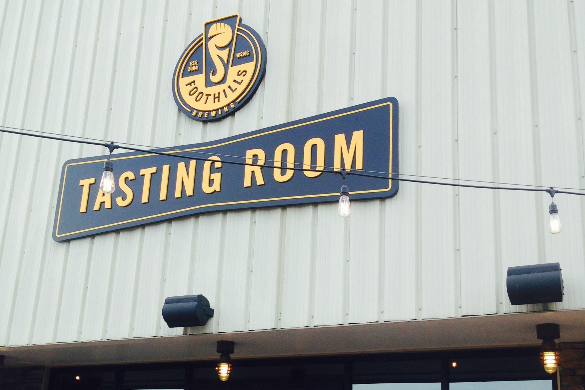 Foothills tasting room on Kimwell Drive.