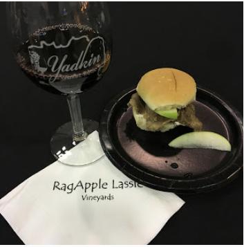 Yadkin valley 2017 winter reds - at Ragapple Lassie Vineyards located in Boonville, N.C.