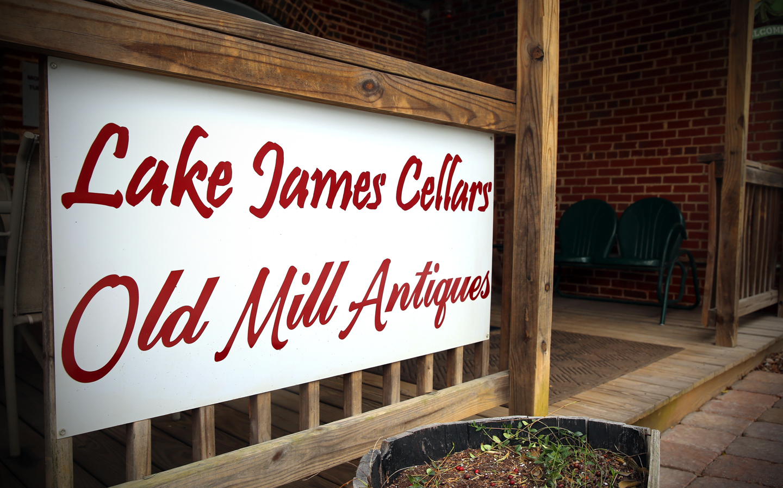 Lake James Cellars Old Mill Antiques