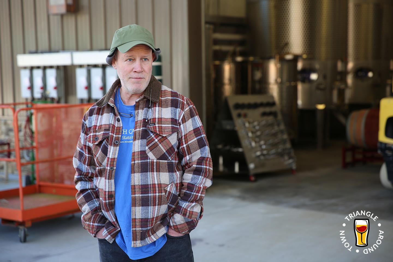 Jones von Drehle's winemaker Dan Tallman.