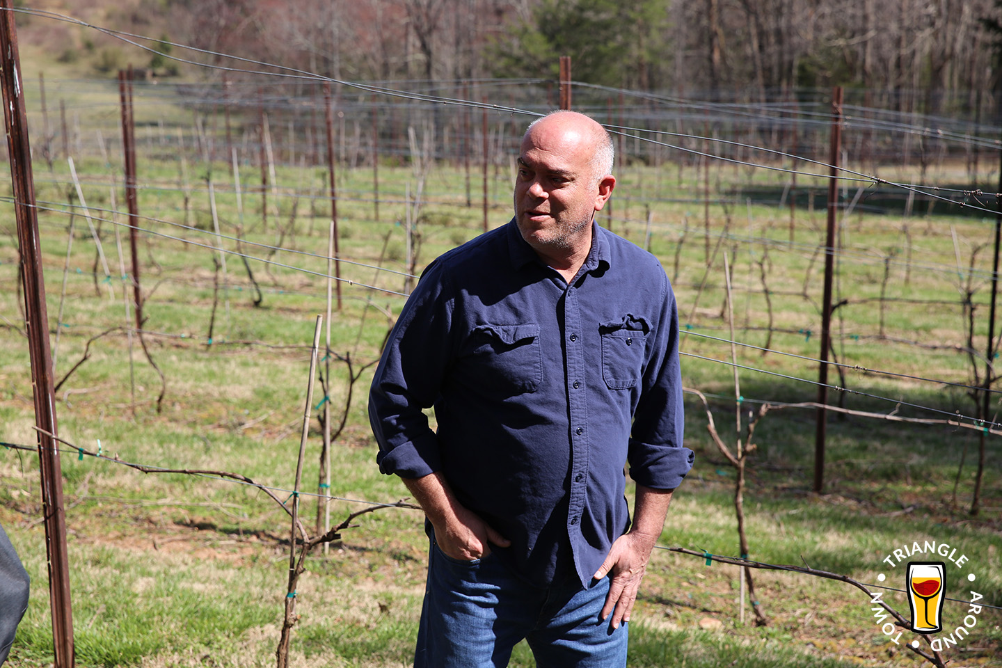 Sean McRitchie is co-owner and winemaker at McRitchie Winery & Ciderworks.