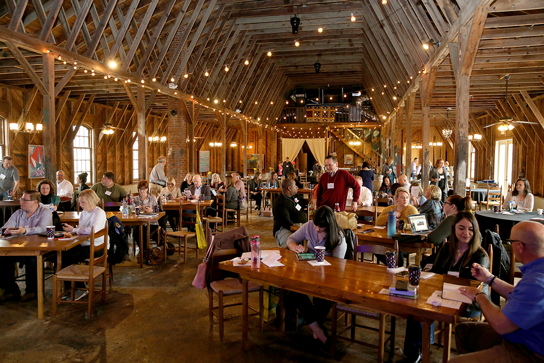 The second annual NC Wine Bloggers Summit was held at Hanover Park Vineyard in Yadkinville, North Carolina.