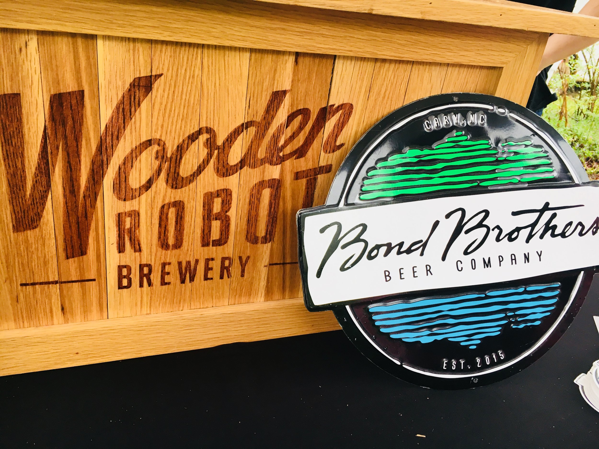 Wooden Robot Brewery + Bond Brothers Beer Company